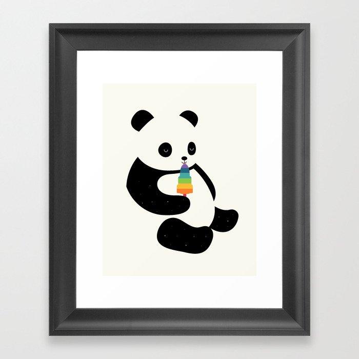 Panda Dream Gerahmter Kunstdruck