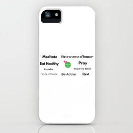 """Daily Intentions """"Jane"""" iPhone Case"""