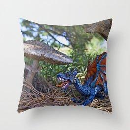 Dragon Sighting Throw Pillow