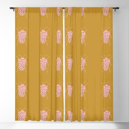 arthropod mustard Blackout Curtain