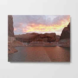 Lake Powell Evenings Metal Print