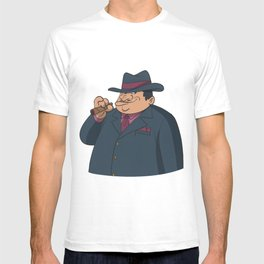 Gangster old-school with cigar T-shirt