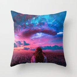 Sighting Throw Pillow