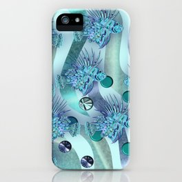 LIONFISH CAMOUFLAGE. iPhone Case