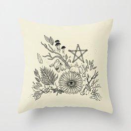 Magic Altar Throw Pillow