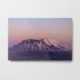 Mount Saint Helens at dusk Metal Print