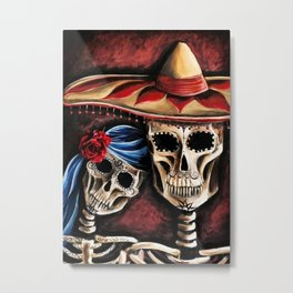 The day of the Dead Metal Print