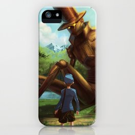 Steampunk Layton iPhone Case