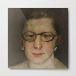 Ruth Bader Ginsburg Art Painting Metal Print
