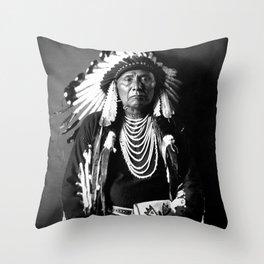 Chief Joseph - Nez Perce Chief - Circa 1900 Throw Pillow