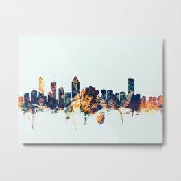 Montreal Canada Skyline Metal Print