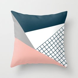 Colorful geometry 16 Throw Pillow