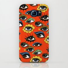 60s Eye Pattern Galaxy S8 Slim Case