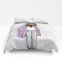 Cozy Cardigan Comforters
