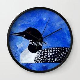 Loon Wall Clock