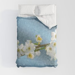 Flower branch - spring is coming #1 Comforters