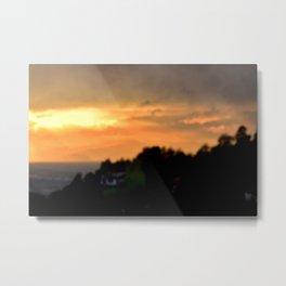 Torino Sunset No.2 | Nadia Bonello Metal Print