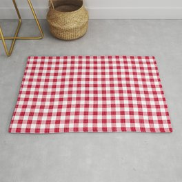 Rustic - Red Gingham Rug