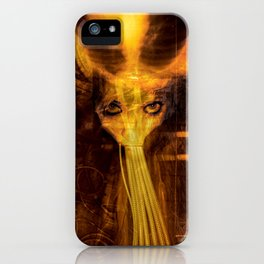"""How the Flesh Writhes""  Judgehydrogen Surrealism giger dali iPhone Case"
