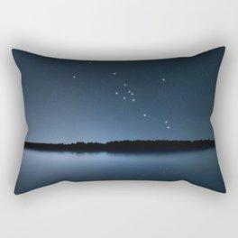 Taurus star constellation, Night sky, Cluster of stars, Deep space,Bull constellation Rectangular Pillow