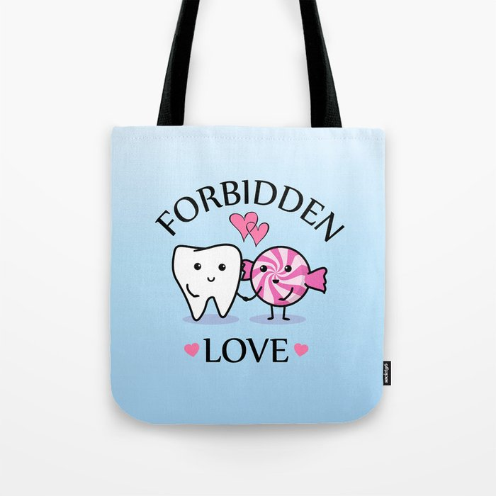 Forbidden Love Tote Bag