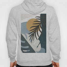 Abstract Tropical Art II Hoody