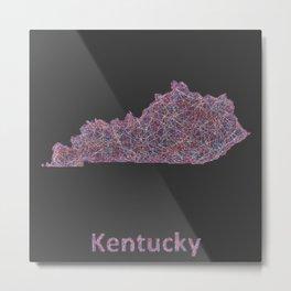Kentucky Metal Print