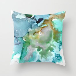By The Shore Throw Pillow