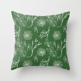 Quietly Christmas. Throw Pillow