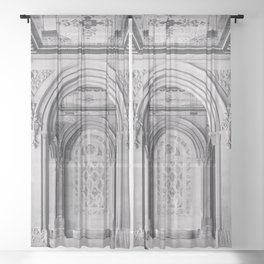 Once at Bethesda Terrace - Central Park NYC Sheer Curtain