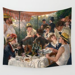 Pierre-Auguste Renoir - Luncheon of the Boating Party Wall Tapestry