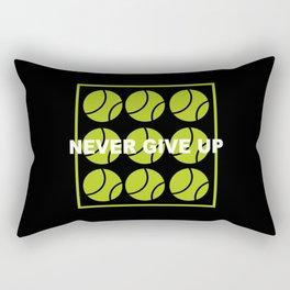 Tennis Tennis Balls Tennis Player Gift Rectangular Pillow