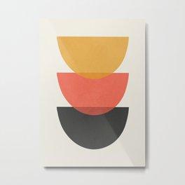 Minimal Abstract Art 34 Metal Print