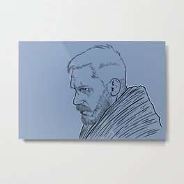 Tom Hardy Taboo Metal Print