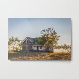 Abandoned Farmstead, North Dakota 3 Metal Print