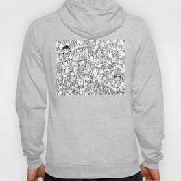 Face'in the hands Hoody