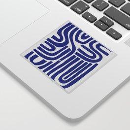S and U Sticker