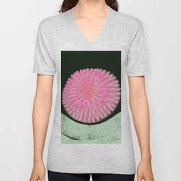 The Blossom of Peace Unisex V-Neck