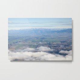 Canterbury Plains Metal Print