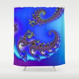 spiral growth -2- Shower Curtain