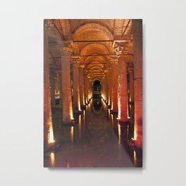 Pillars Of Light! Metal Print