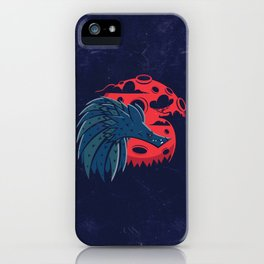 Mr. Wolf iPhone Case