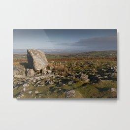 Arthur's stone burial tomb Metal Print