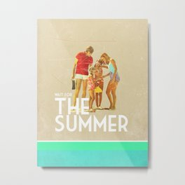 For The Summer Metal Print