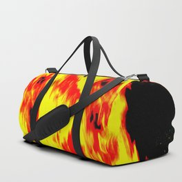 concentrated fire Duffle Bag