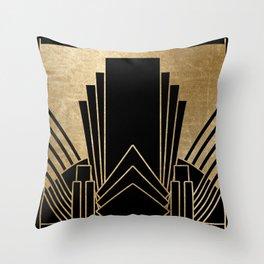Art deco design Throw Pillow
