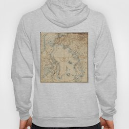 Map of the Arctic and Adjacent Regions (1855) Hoody