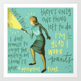 Nancy Drew. Kunstdrucke