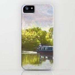 On The Avon A Digital Painting iPhone Case
