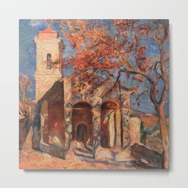African American Masterpiece Chapel of Notre Dame, Cagnes-sur-Mer' by William Johnson Metal Print